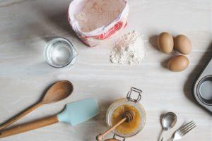 手作りスポンジケーキのイメージ